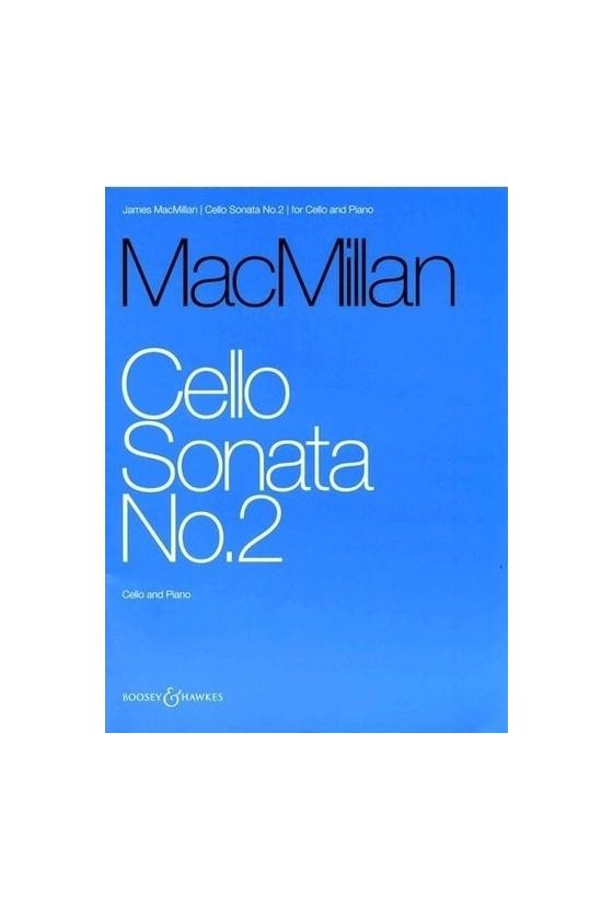 MacMillan, Cello Sonata No....