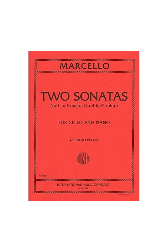 Marcello, 2 Sonatas in F...