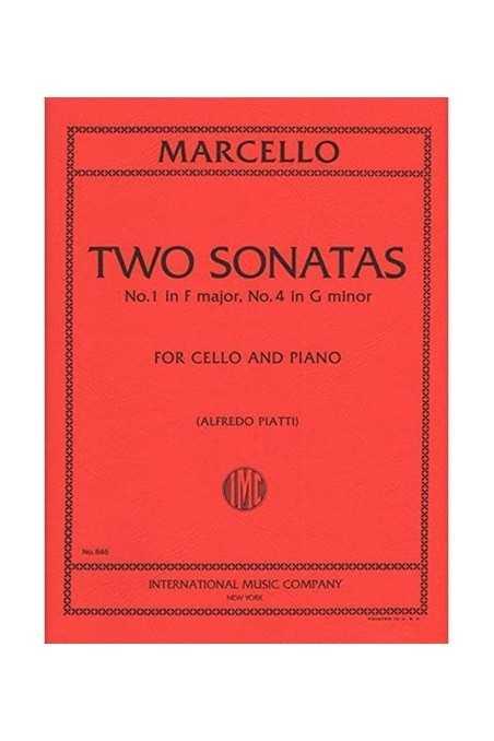 Marcello, 2 Sonatas In F Major And G Minor For Cello And Piano