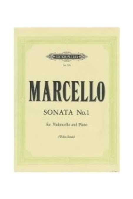 Marcello, Sonata No 1 For Cello (Peters)