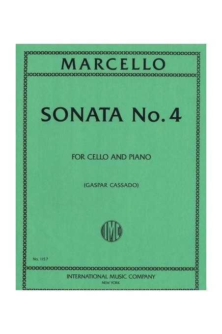 Marcello, Sonata No. 4 For Cello And Piano (IMC)