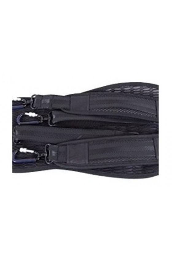 Tonareli Cello Shaped Fiberglass Viola Case With Wheels