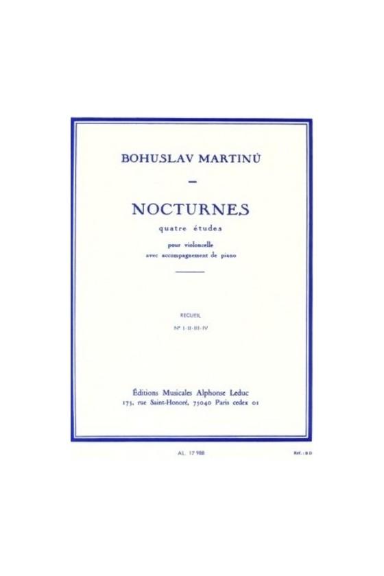Martinu, Nocturnes for...