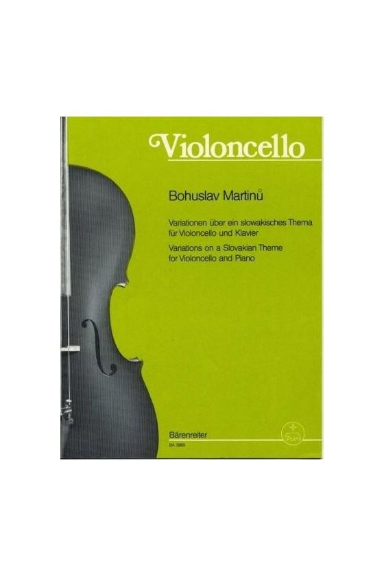 Martinu, Variations on a...