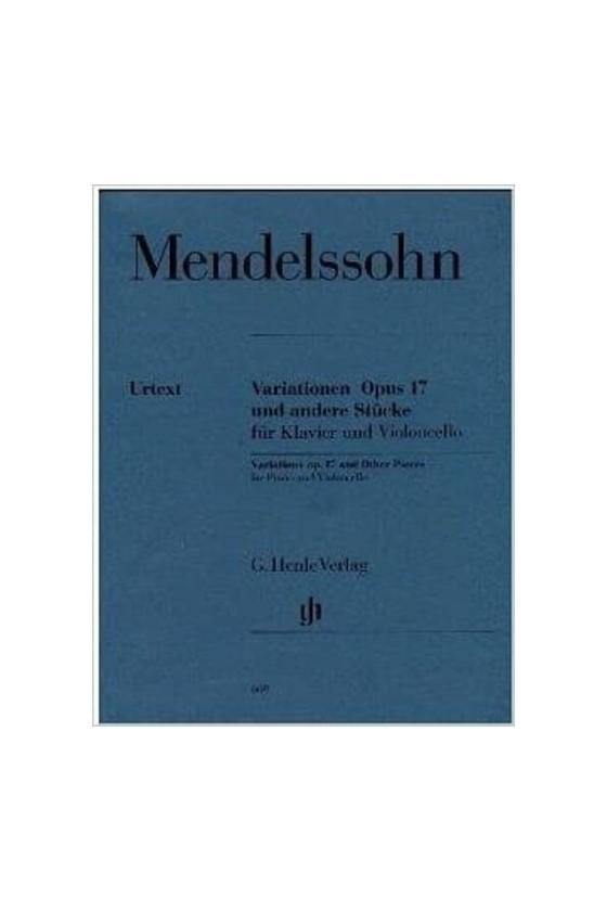Mendelssohn Variations Op...