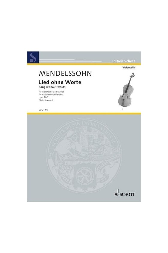 Mendelssohn, Song Without...