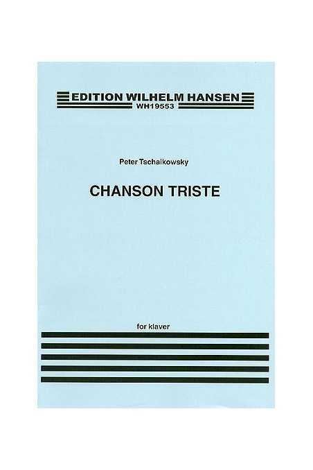 Tchaikovsky, Chanson Triste Op. 40 No 2 For Cello (Schott)