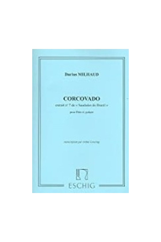 Milhaud, Corcovado for...