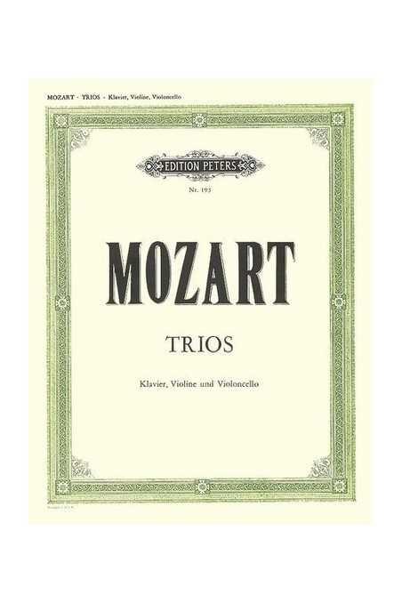 Mozart, Complete Piano Trios (Barenreiter)