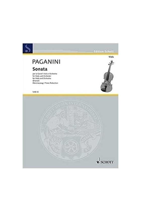 Paganini Sonata for Viola...