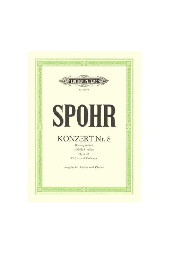 Spohr Concerto No. 8 in a...