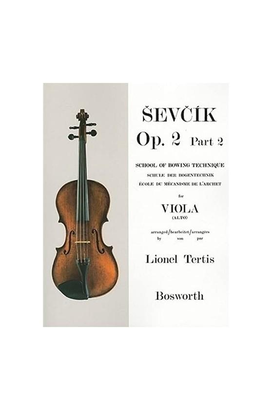 Sevcik, Op. 2 Part 2 For...