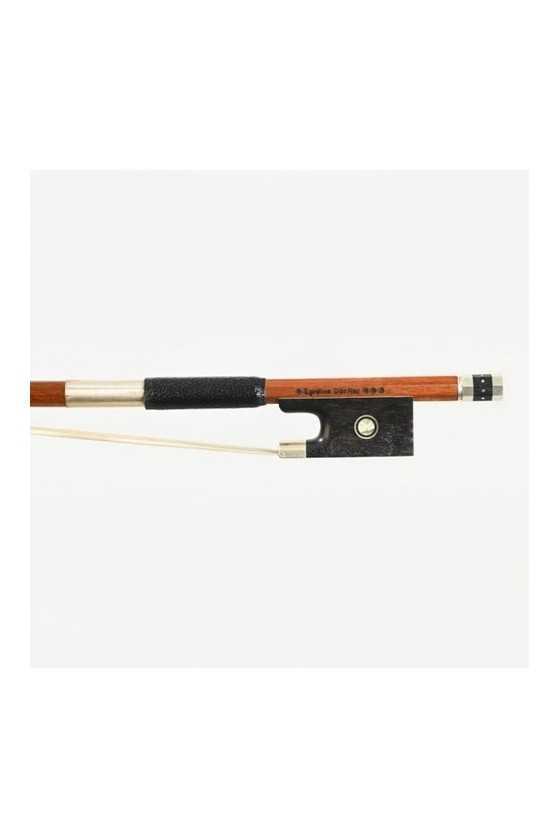 Dorfler Violin Bow - 24 Pernambuco Wood - Genuine Silver Trimming - Master Bow - Round