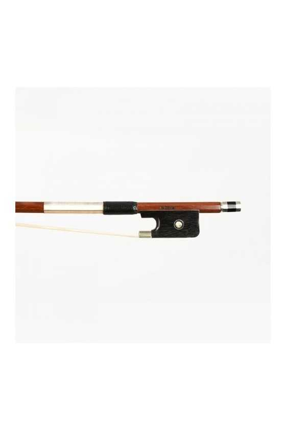 Dorfler Viola Bow - 10 Brazilwood - Nickel Silver