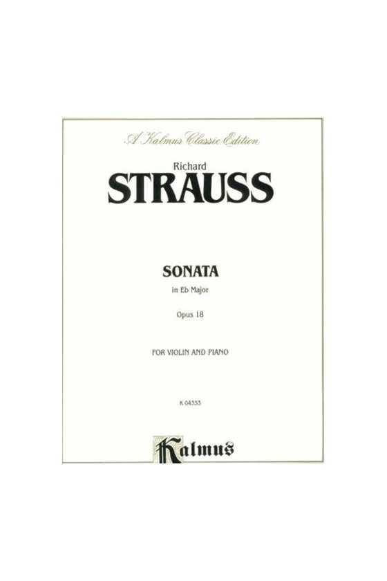 Strauss Sonata In E Flat...