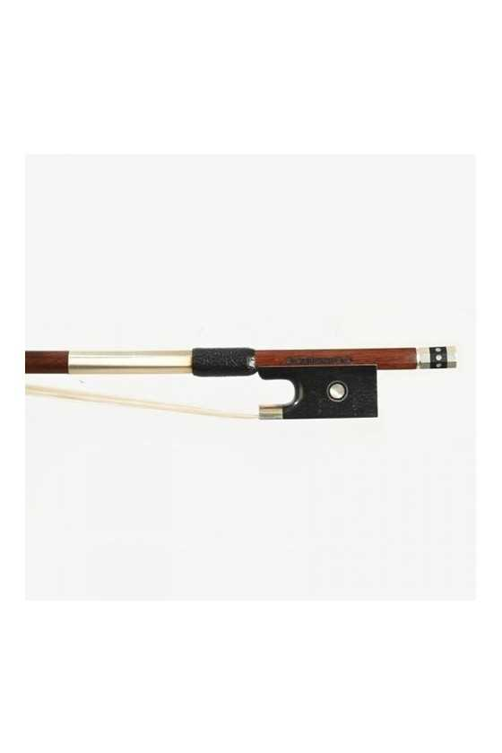 Dorfler Violin Bow - 21 Pernambuco Wood - Genuine Silver Trimming - Master Bow - Round