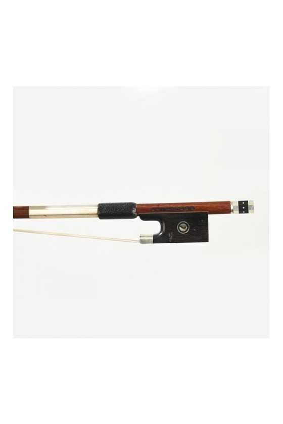 Dorfler Violin Bow - 22a Pernambuco Wood - Genuine Silver Trimming - Master Bow - Octagonal