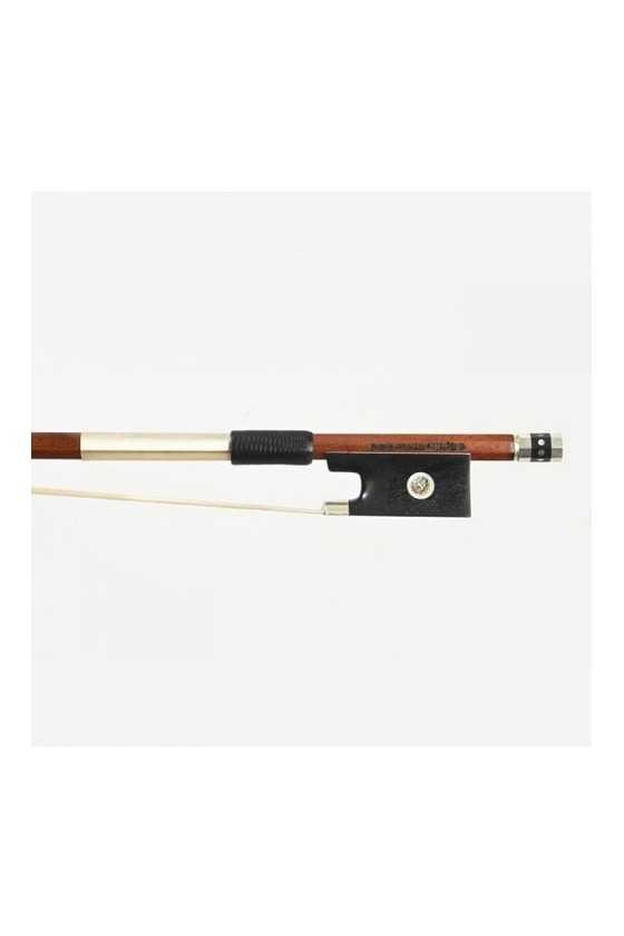 Dorfler Violin Bow - 23 Pernambuco Wood - Genuine Silver Trimming - Master Bow - Round