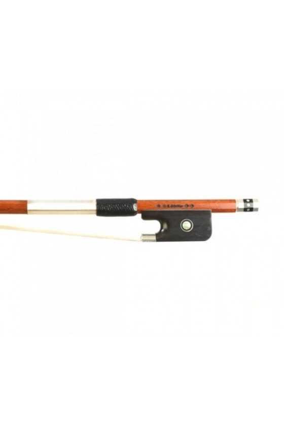 Dorfler Viola Bow - 21a Pernambuco Wood - Genuine Silver Trimming - Master Bow - Octagonal