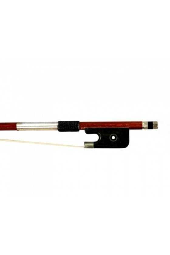 Dorfler Cello Bow - 8 Brazilwood - Nickel Silver