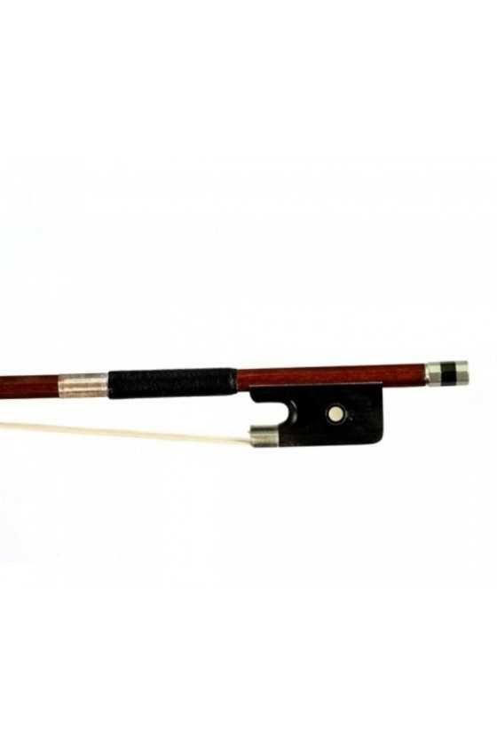 Dorfler Cello Bow - 10a Brazilwood - Nickel Silver