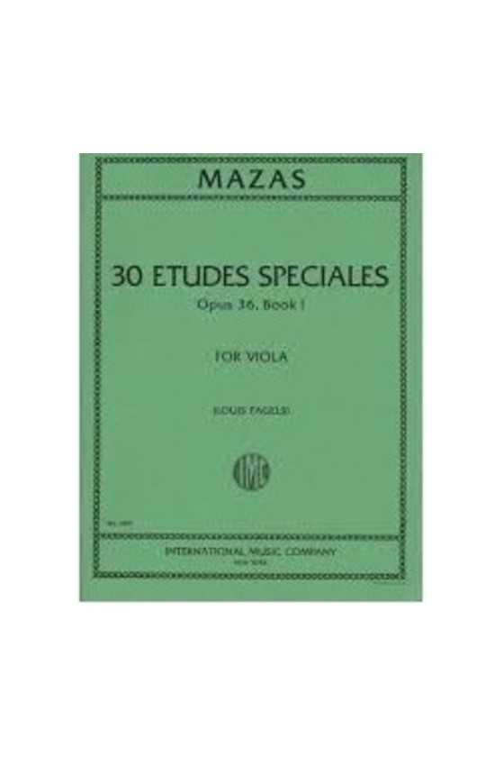 Mazas 30 Etudes Specials...