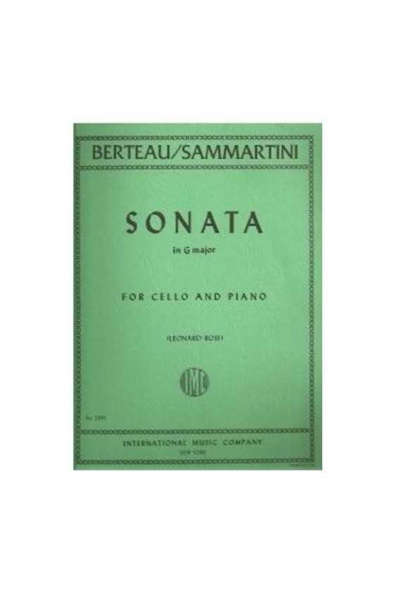 Berteau/Sammartini Sonata...