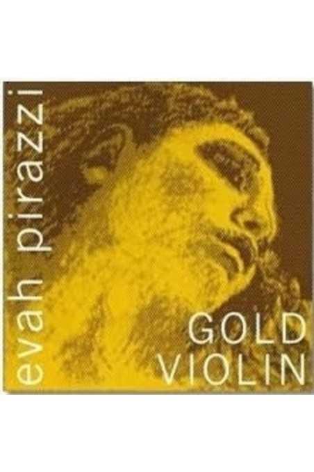 4/4 Evah Pirazzi Gold Violin A String (Ball End)