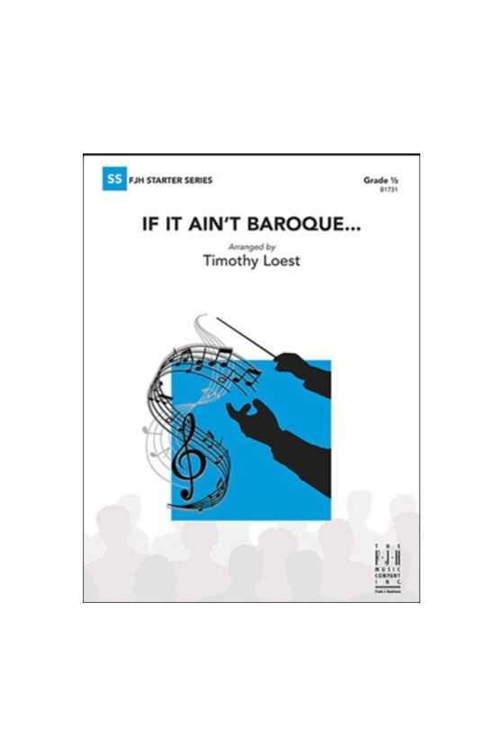 If It Ain't Baroque (FJH)