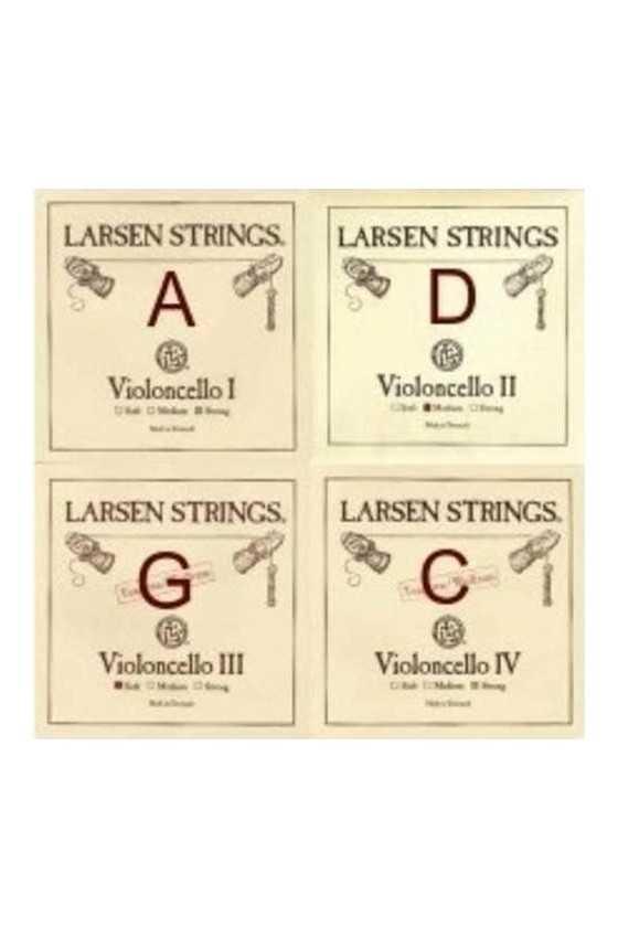 4/4 Larsen Medium Cello...