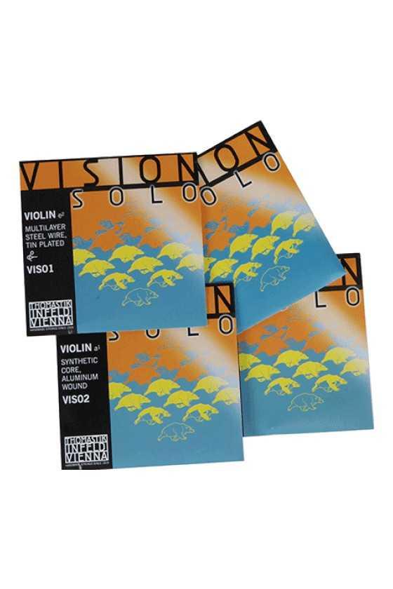 Vision Violin Solo Strings Set
