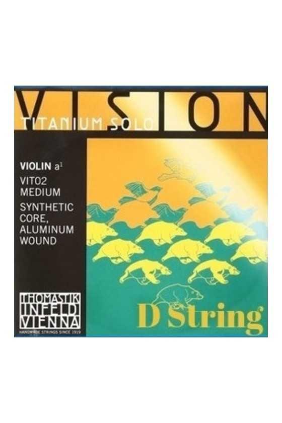 Vision Titanium Violin Solo...