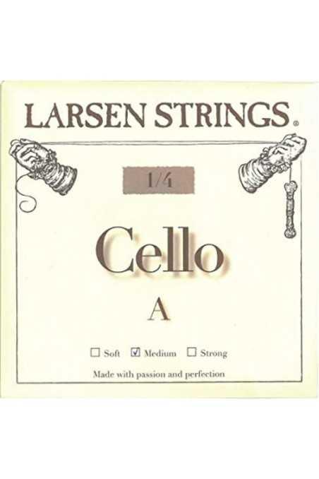 Larsen A 1/4 Cello String- Medium