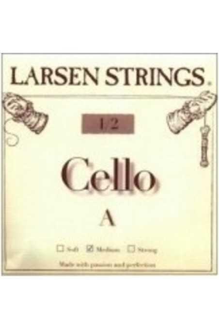 Larsen A 1/2 Size Cello String- Medium