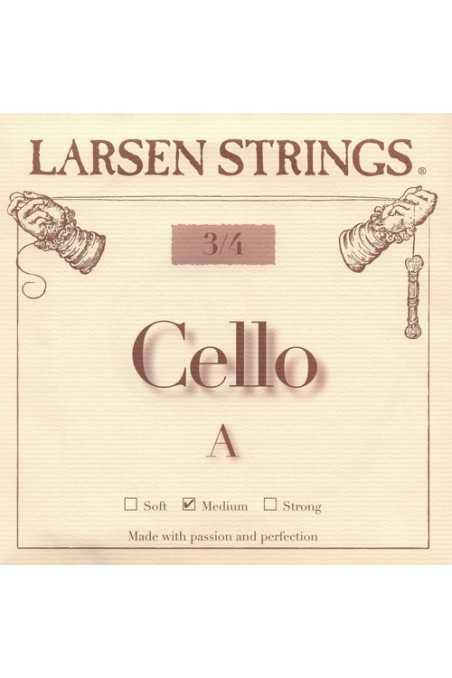 Larsen A 3/4 Size Cello Strings- Medium