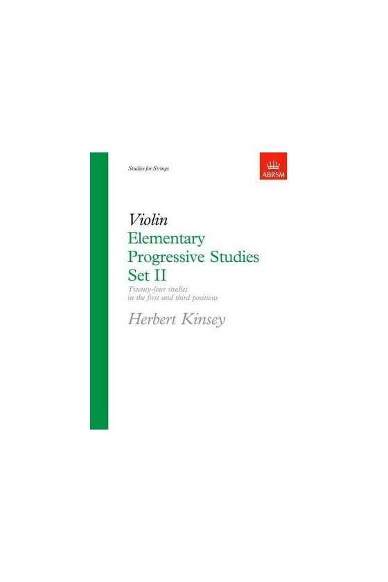 Kinsey, Easy Progressive Studies For The Viola Bk 2