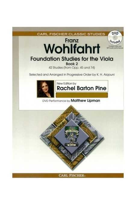 Wohlfahrt Foundation Studies Bk 2 with DVD For Viola (Fischer)