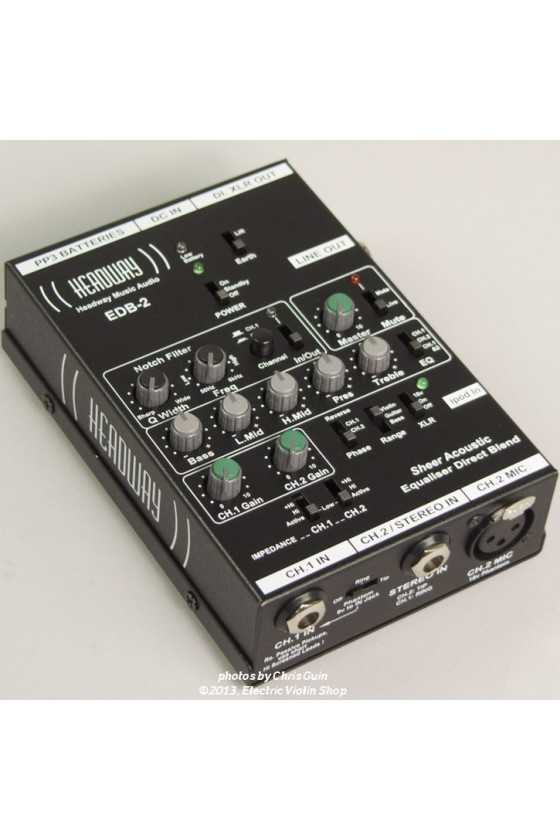 Headway Pre- Amplifier: Sheer Acoustic EDB-2