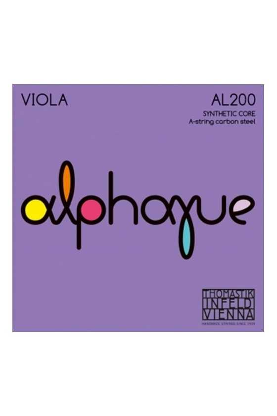 Alphayue String Set for Viola