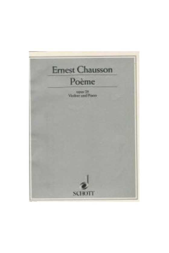Chausson, Poeme Op. 25 For...