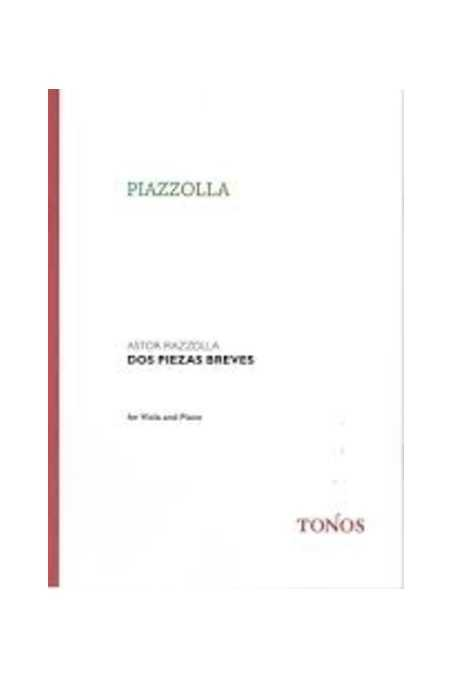 Piazzolla, Two Short Pieces For Viola And Piano