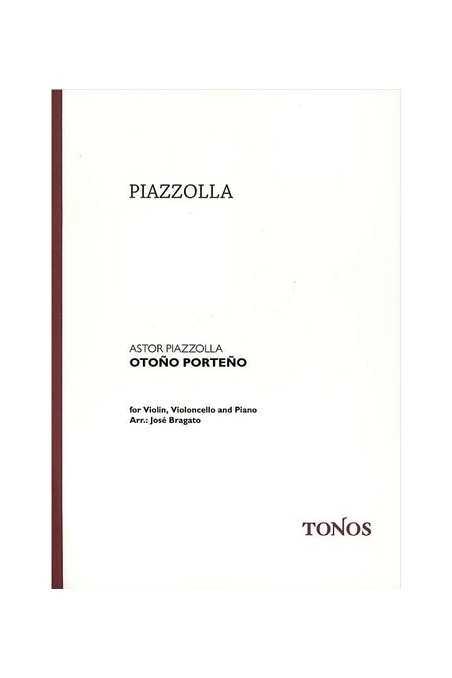 Piazzolla, Otono Porteno For Violin, Cello And Piano (Tonos)