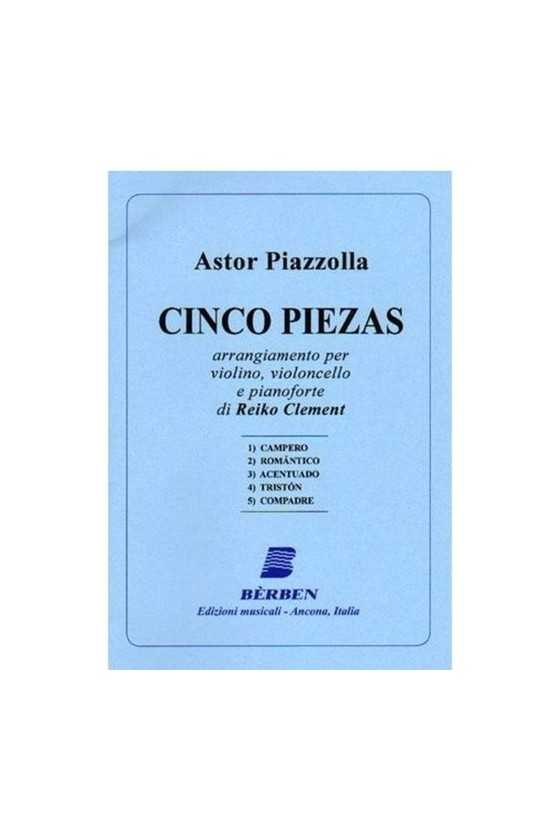 Piazzolla, 5 Pieces for...