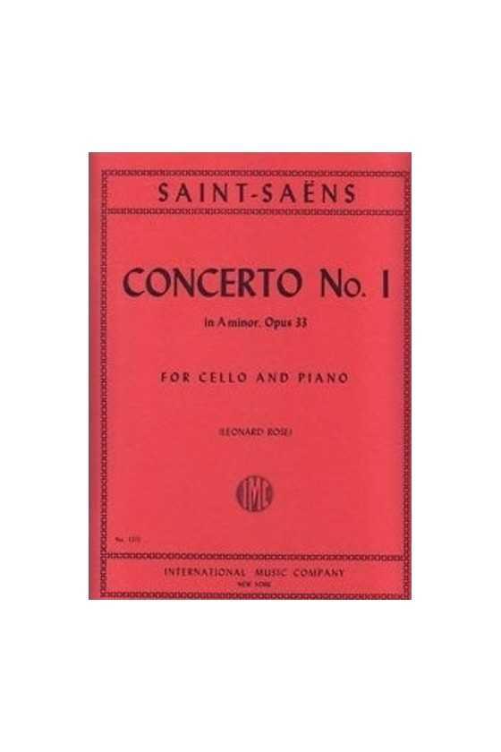 Saint-Saens, Concerto No 1...