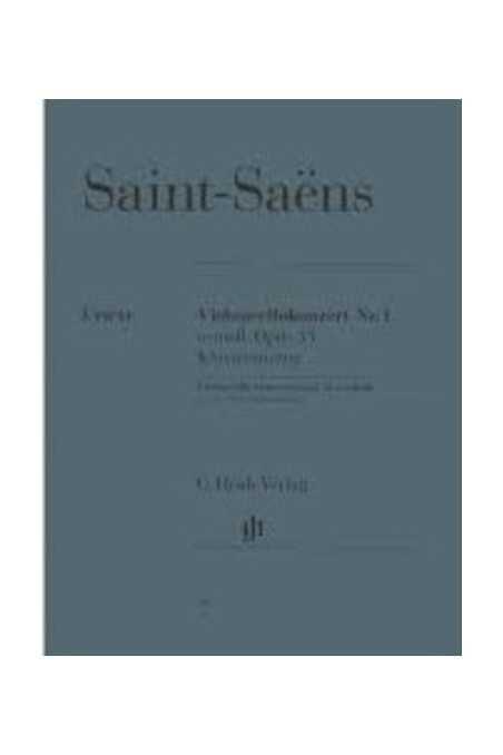 Saint- Saens, Cello Concerto In A Minor Op 33 ( Henle)