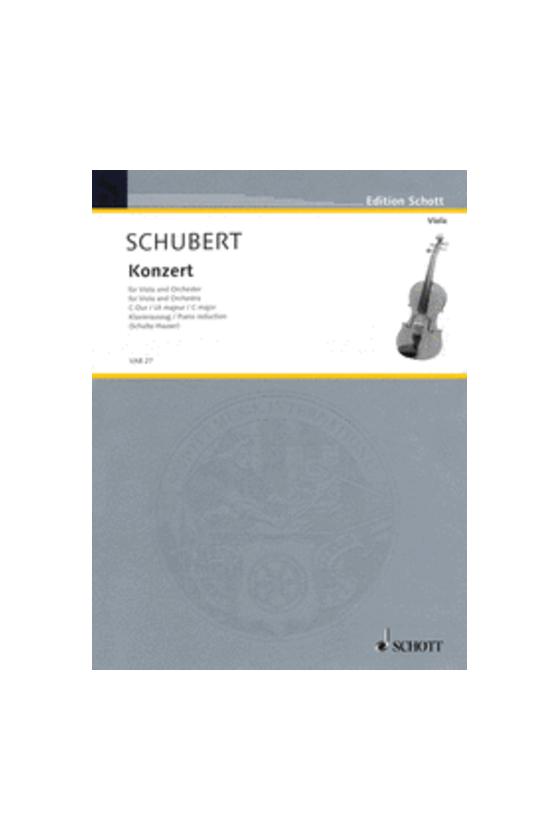 Schubert Konzert For Viola...