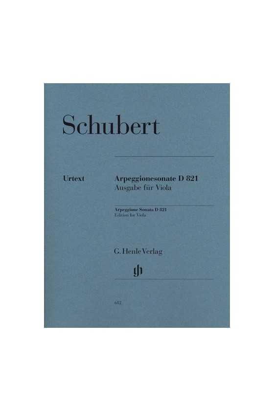Schubert, Arpeggione Sonata...