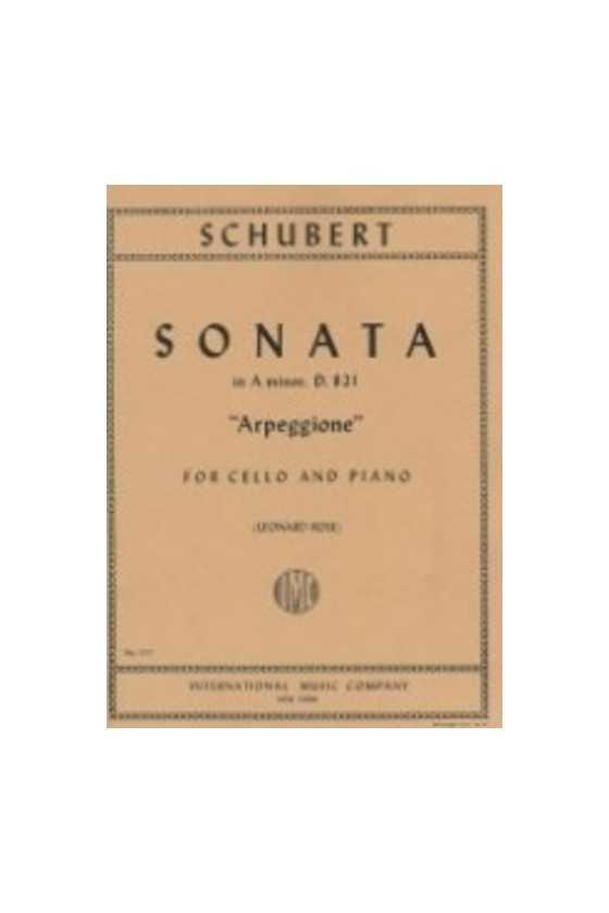 Schubert, Sonata in A min &...