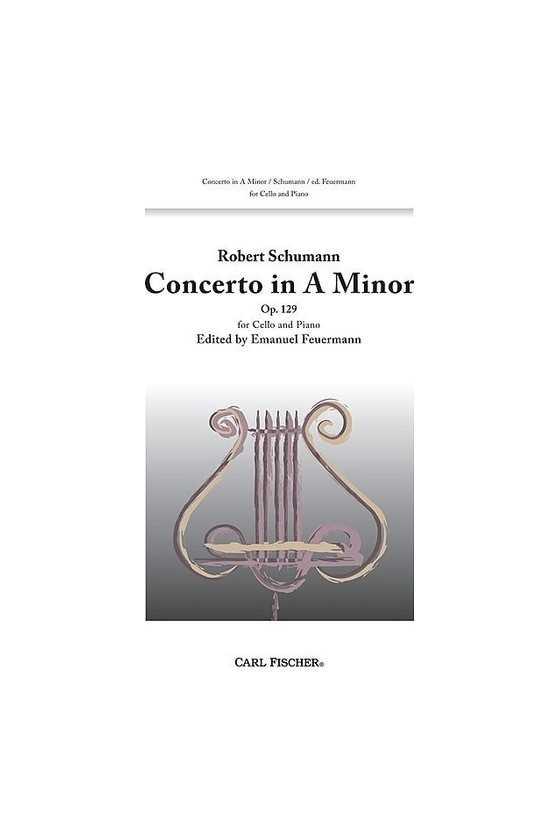 Schumann Cello Concerto in...