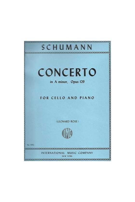 Schumann Concerto in A min...